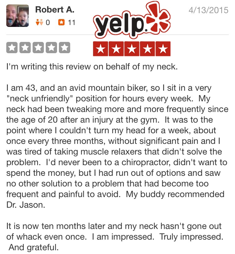los angeles chiropractor yelp